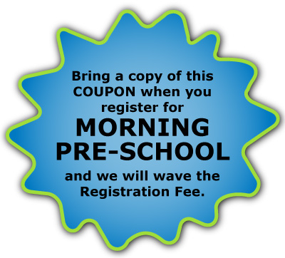 morning pre school coupon