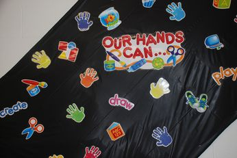 Our hands can....
