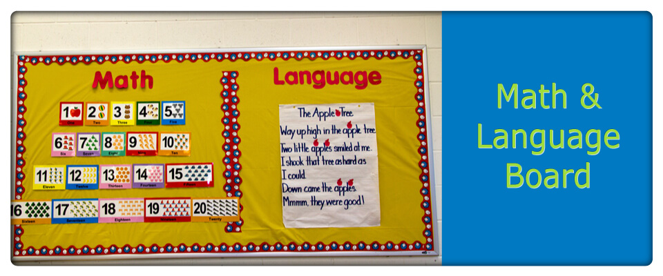 math and language board