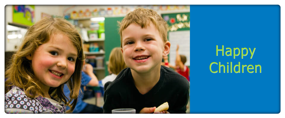 child care Burlington / child care centres Burlington, happy kids