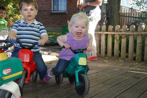 Our new trikes!