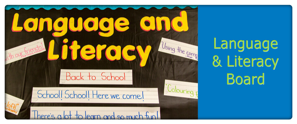 language and literacy board