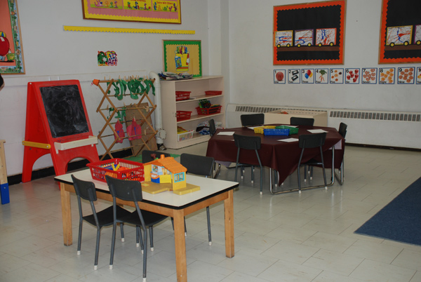 The Art Area for Pre-Schoolers